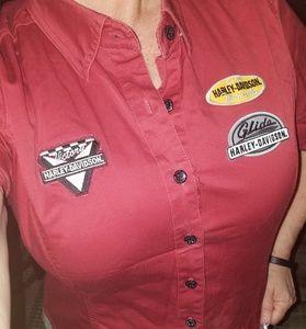 Harley Davidson shirt. Size large, like new.